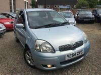 ✿54-Reg Toyota Yaris 1.3 VVT-i Blue 3dr ✿ONE OWNER ✿FULL SERVICE HISTORY✿