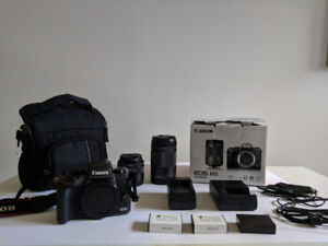 Canon M5 Mirrorless Camera + Lenses and Accessories
