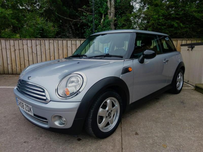 2008 Mini One 14 Salt In Silver Only 44000 Miles And Fsh In