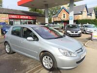 PEUGEOT 307 S HDI, Silver, Manual, Diesel, 2004