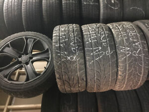 "4SUMMER TIRES WITH MAGS 20"" RANGE ROVER"