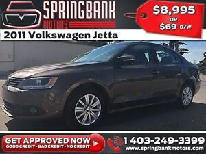 2011 Volkswagen Jetta $69B/W INSTANT APPROVAL, DRIVE HOME TODAY!