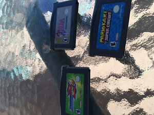 3 jeux gameboy advance nintendo