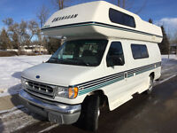 Okanagan Ford E250 Camper Van, 1997 - Excellent Condition