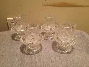 Set of Four Candle Holders