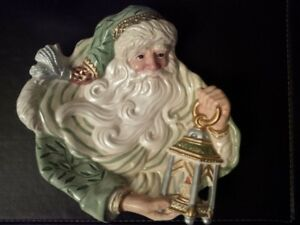 Classic Fitz and Floyd Santa Candy Dish