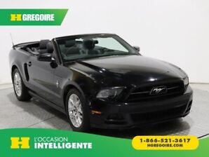 2014 Ford Mustang CONVERTIBLE V6 PREMIUM AUTO A/C CUIR MAGS CHROMÉ
