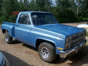 1983 CHEVY SHORTBOX STEPSIDE