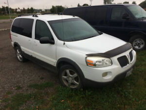 2006 Pontiac Montana for scrap