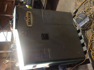 Maxim outdoor pellet and grain furnace