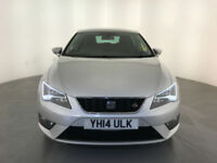 2014 SEAT LEON FR TECHNOLOGY TDI DIESEL 1 OWNER SERVICE HISTORY FINANCE PX