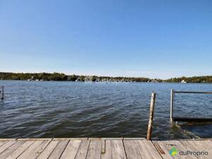 Chalet 4 saisons au Lac-3-Saumons
