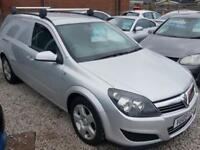 VAUXHALL ASTRA 1.7 CDTI SPORTIVE 100 BHP VAN NO VAT FINANCE PX AVALIABLE