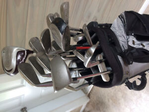 Men's right handed golf clubs