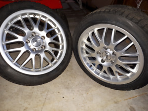 17x 7 alloy wheel, 5 x120
