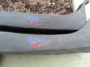 CURLING grip shoe covers (2 pair size large) Kawartha Lakes Peterborough Area image 1