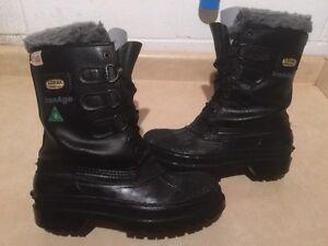 Men's Kodiak Canada IronAge Steel Toe Work Boots Size 7