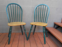 CHAISES STYLE CANADIEN