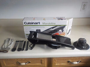 Cuisinart Mandoline Slicer almost not used