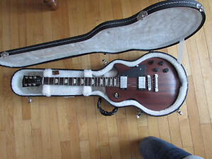 Gibson Les Paul Studio Mahogany w/case, strap, strings, and more