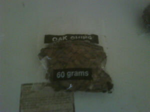 60 Grams pack of Med toasted oak chips
