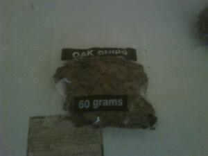 60 Grams pack of Med toasted oak chips