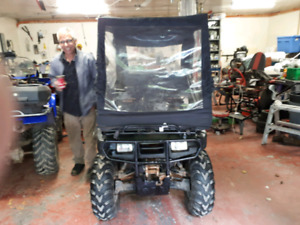 Atv cover for plowing   60.00