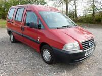 Fiat Scudo 1.9D 2005 / 55Plate **Factory Wheelchair Conversion**