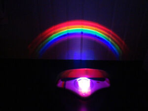 Kids Rainbow Bedroom Desk Lamp - Awesome! -Brand New Kitchener / Waterloo Kitchener Area image 2