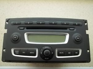 08 09 2010 SMART Car Fortwo Radio Stereo 6 Disc Changer MP3