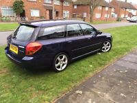 Subaru Legacy 2.5 Limited 2004 estate for sale or SWAP for car with tow bar