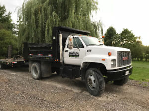 Dump truck. Ready to work. Safety etested. A/c .air brakes