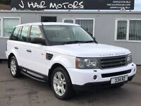 Range Rover Sport wrapped In White PX WELCOME not BMW X5 Mercedes M3 evo sti etc