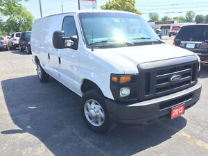 2012 Ford E-150 Accident Free Cargo Van Only 66Km