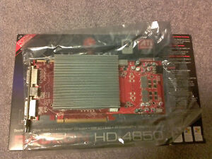FANLESS and SILENT ATI Radeon HD 4850 512MB Graphics Card