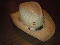 Authentic Charlie 1 Horse Hat Co. Straw Hat