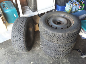 4 x Winter Tires and Rims - Honda Odyssey