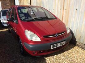 2003 Citroen Xsara Picasso 2.0HDi 90hp COMPLETE WITH M.O.T DIESEL