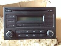 Car radio/CD player for VW T5