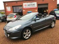 2007(57) Peugeot 307 CC 2.0 16v ( 140bhp ) Coupe Sport, **ANY PX WELCOME**