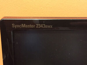 Samsung SyncMaster 2343BWX Monitor for Sale!! Cambridge Kitchener Area image 3