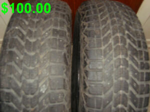 Pneus D Hiver---Firestone Winterforce---Winter Tires.