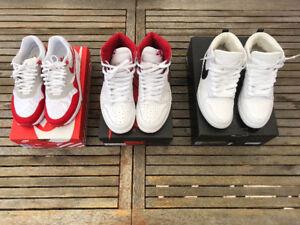 Jordan,Nike,Adidas