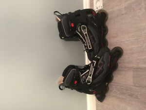 Men's and lady's roller blades