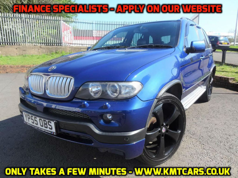 2005 bmw x5 auto le mans blue sport edition kmt. Black Bedroom Furniture Sets. Home Design Ideas