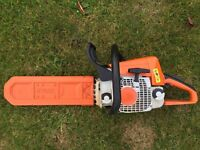 "Stihl MS230C Petrol Chainsaw 16"" bar and chain - serviced"