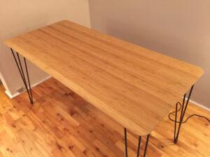 Table hairpin legs - 140x65cm / 55x25,5''