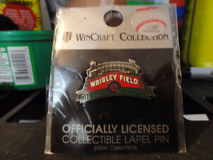 Official MLB Chicago Cubs Wrigley Field Lapel Pin