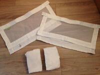 Bednest fabric sides and sheets