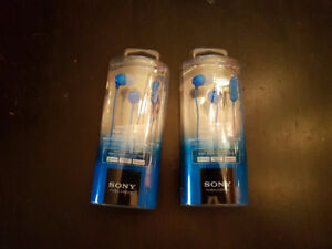 Sony Stereo Headphones MDR-EX15AP - NEW in Package